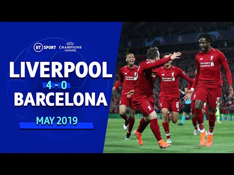 Liverpool vs Barcelona (4-0) | UEFA Champions League Highlights