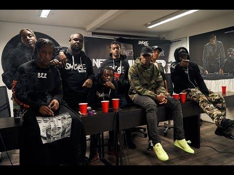 Section Boyz change name to Smoke Boys talk Don't Panic II, Break, UK rap, Drake and more | NFTR