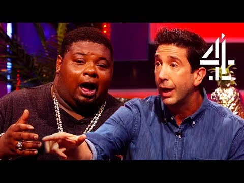 Big Narstie Fanboys Over David Schwimmer (Ross From Friends)!! | The Big Narstie Show
