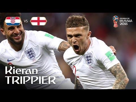 Kieran Trippier Goal – Croatia v England – MATCH 62