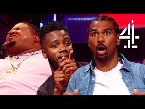 LOSING IT Over Insults with David Haye, Big Narstie & Mo Gilligan!! | The Big Narstie Show
