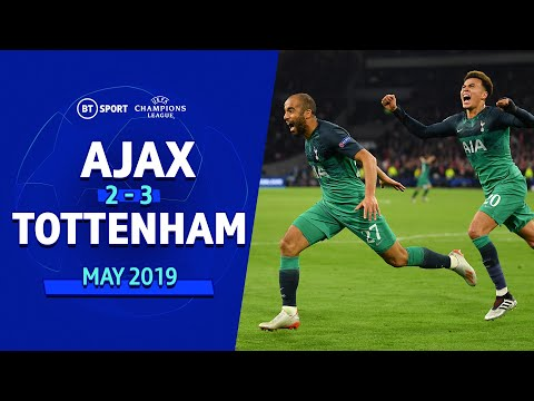Ajax vs Tottenham (2-3) | UEFA Champions League Highlights