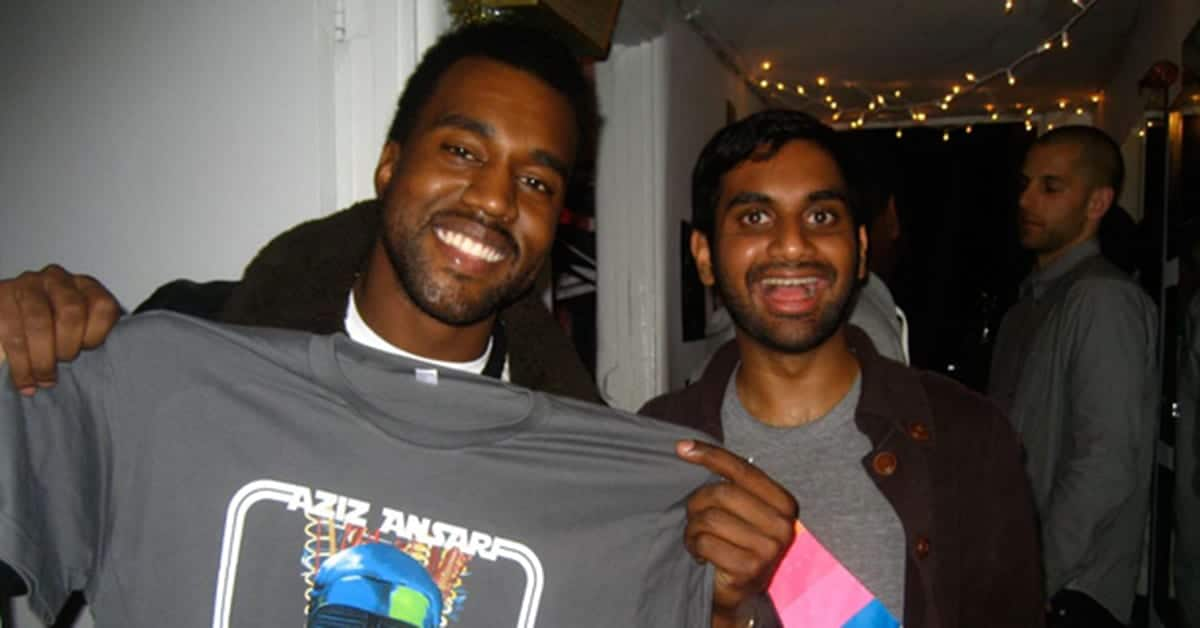 Aziz Ansari Kanye West Twisted Fantasy