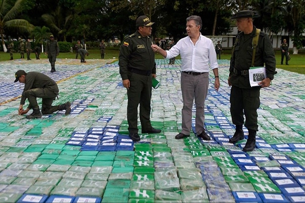 colombia biggest bust
