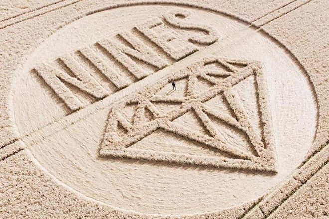 nines crop circle