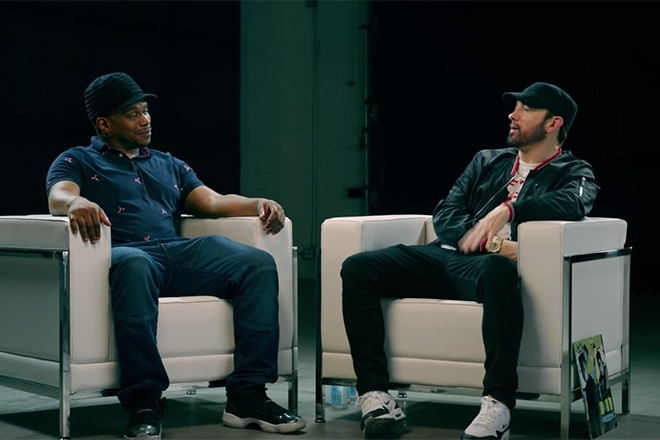kamikaze interview eminem sway eminem interview eminem mgk beef