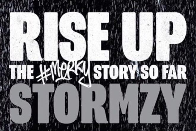 #merky story stormzy stormzy book rise up the merky story jude lawson