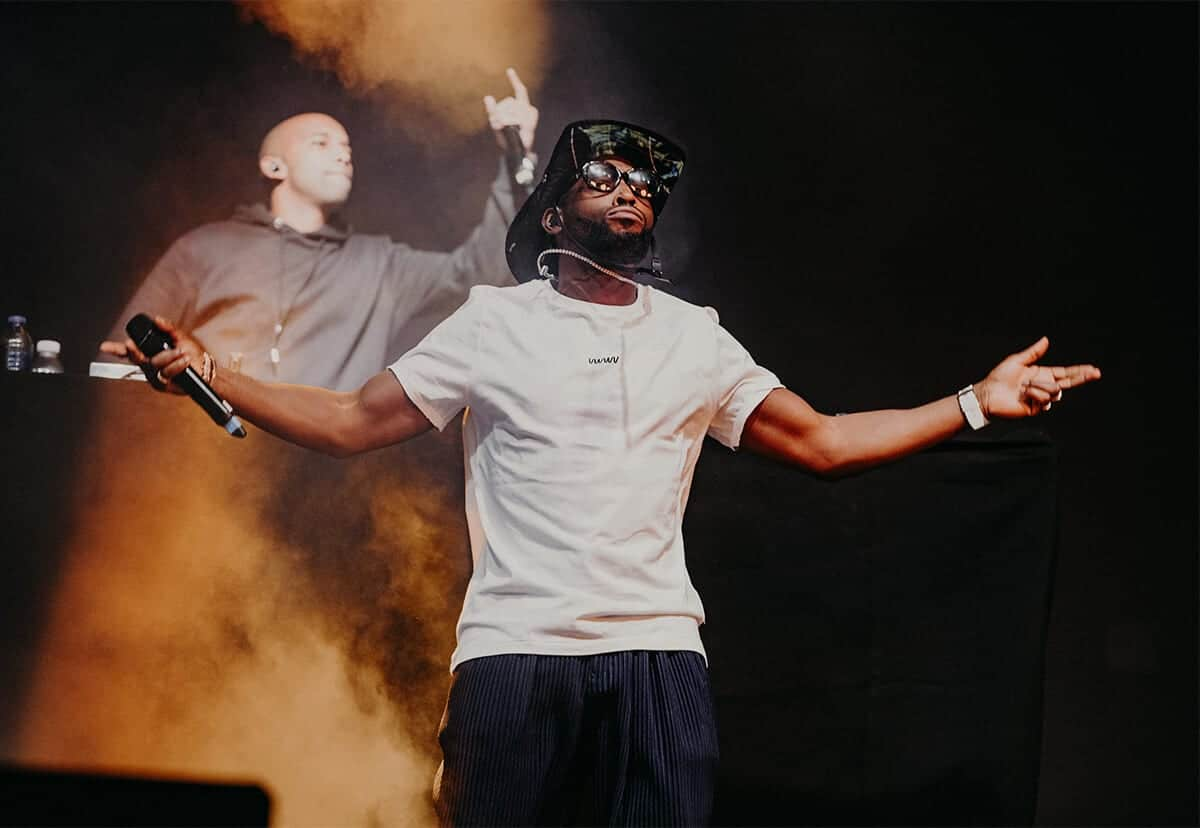 tinie tempah earthquake sundown 2019