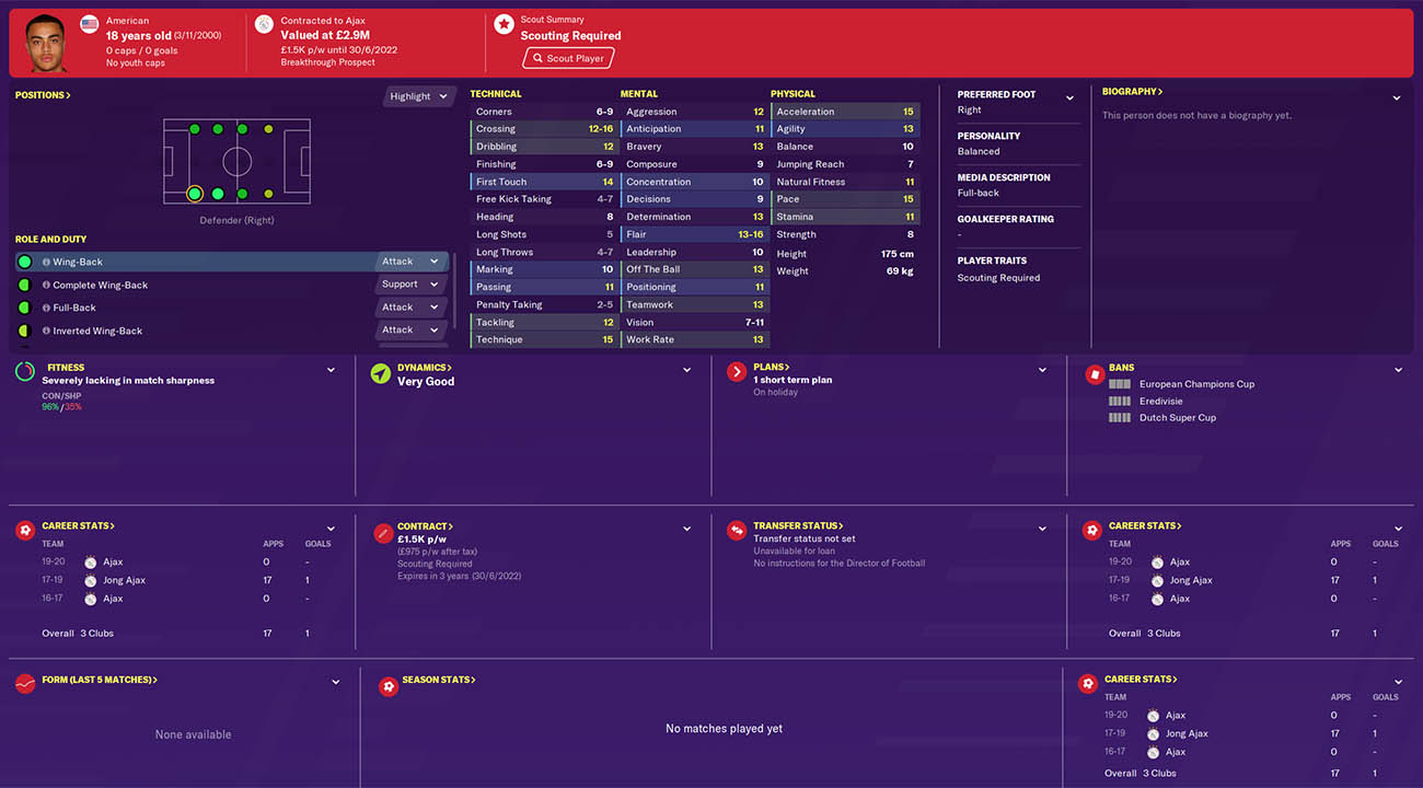 fm20 dest football manager 2020 wonderkids