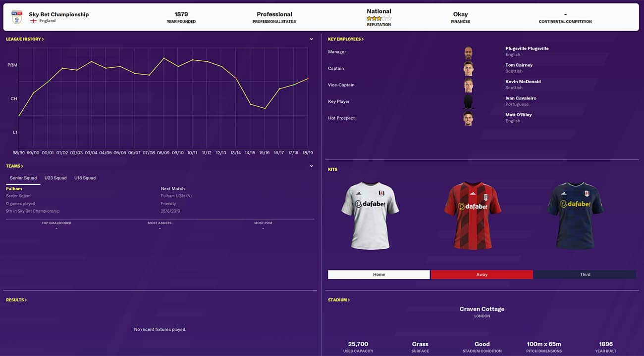 fm20 fulham football manager 2020 teams to manage