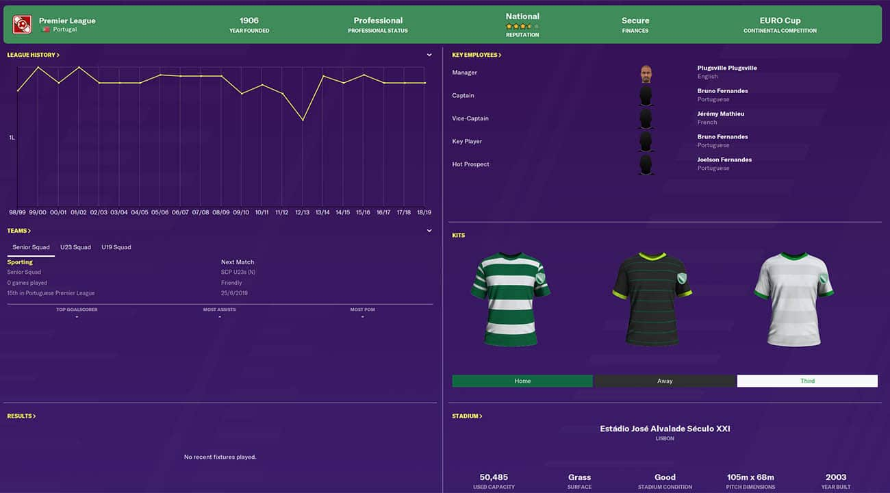 fm20 sporting football manager 2020 teams to manage