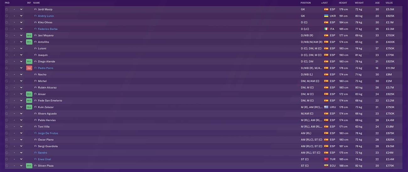fm20 vallodolid football manager 2020 la liga