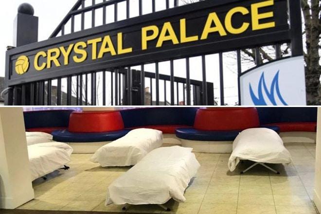 crystal palace homeless shelter