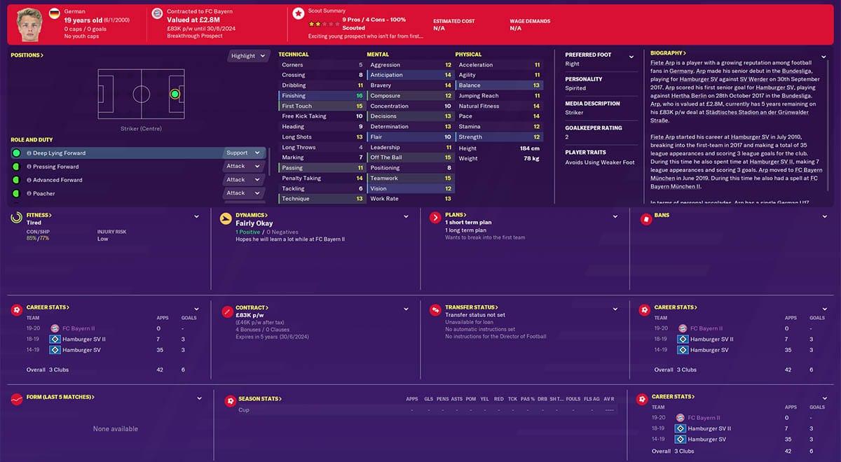 fm20 arp football manager 2020 bayern munich