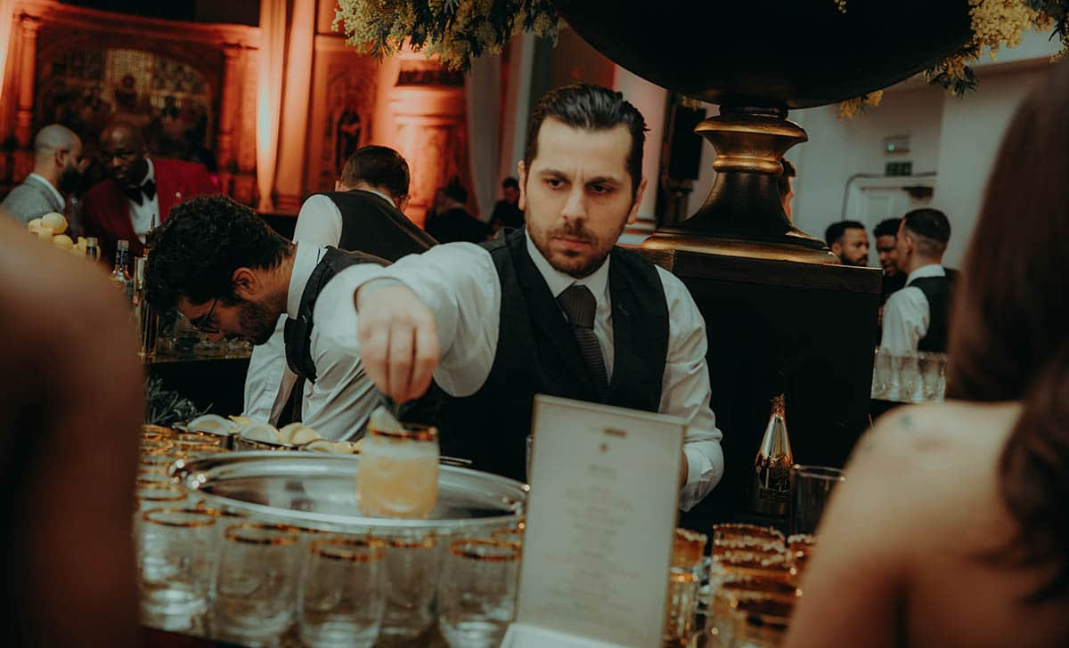 bartender at event grm gala beats 1 grm daily