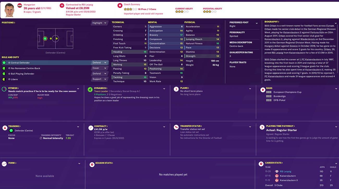 fm20 orban football manager 2020 rb leipzig