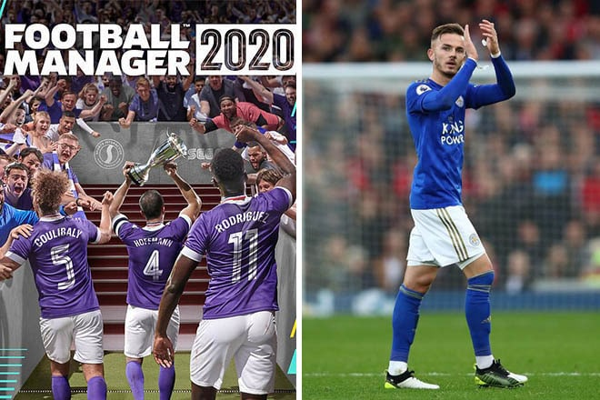 FM20 Leicester football manager 2020 leicester
